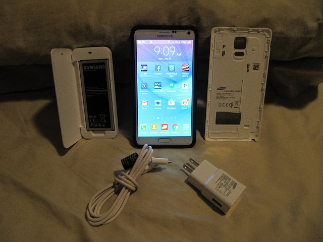 Samsung Galaxy Note 4 (White, Verizon, Mint Condition) 0 Shipped :USPS-img_0813.jpg