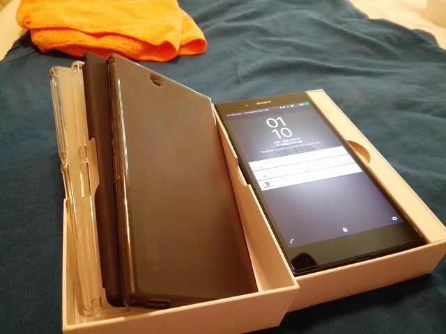 WTS Mint Sony Xperia Z Ultra with Cases-uploadfromtaptalk1444595768929.jpg