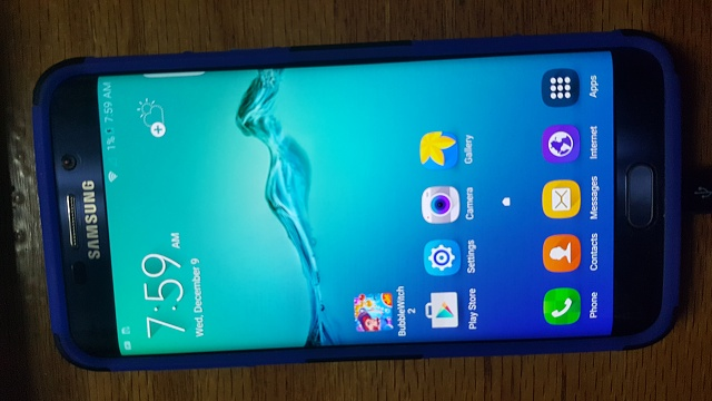 Used Sprint Black Sapphire Samsung Galaxy S6 edge+ with Accessories-20151209_075928.jpg