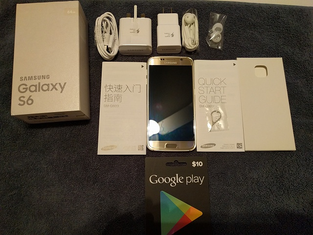 ** MINT CONDITION ** Galaxy S6 (LTE on T-Mobile and AT&T) 64GB ** Factory Unlocked **-img_20151220_192846.jpg