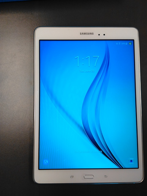Samsung Galaxy Tab A Bundle 16GB, 9.7in, White w/ Charger, Case & Screen Protector-img_20170620_131717.jpg