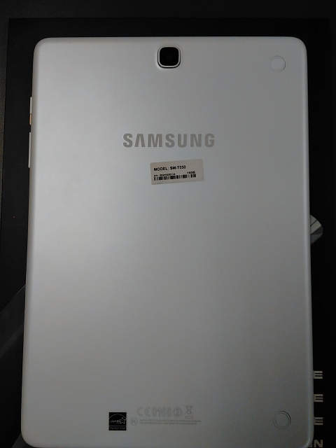 Samsung Galaxy Tab A Bundle 16GB, 9.7in, White w/ Charger, Case & Screen Protector-img_20170620_131750.jpg