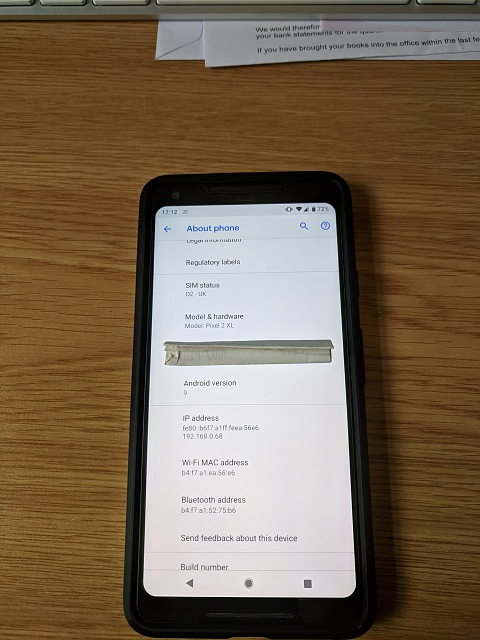 UK based Google Pixel 2 XL - 64GB / white/black - immaculate & in warranty-img_20180812_171248.jpg