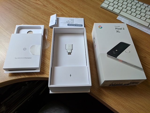 UK based Google Pixel 2 XL - 64GB / white/black - immaculate & in warranty-img_20180812_171446.jpg