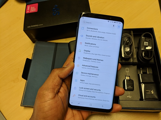 Unlocked T-Mobile Samsung Galaxy S9+ with a leather case-img_20181025_164440.jpg