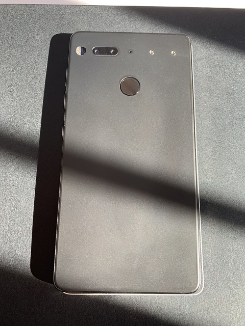 Lightly used Essential phone in good condition-back.jpg