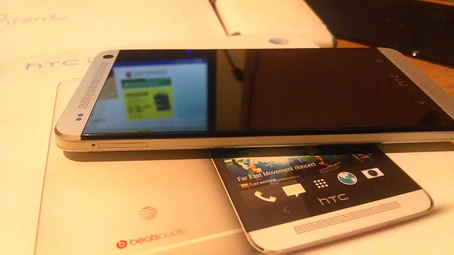 Mint ATT HTC One 32GB 32GB Converted To Dev Edition w/ Media Link & Cases-left-side-view.jpg