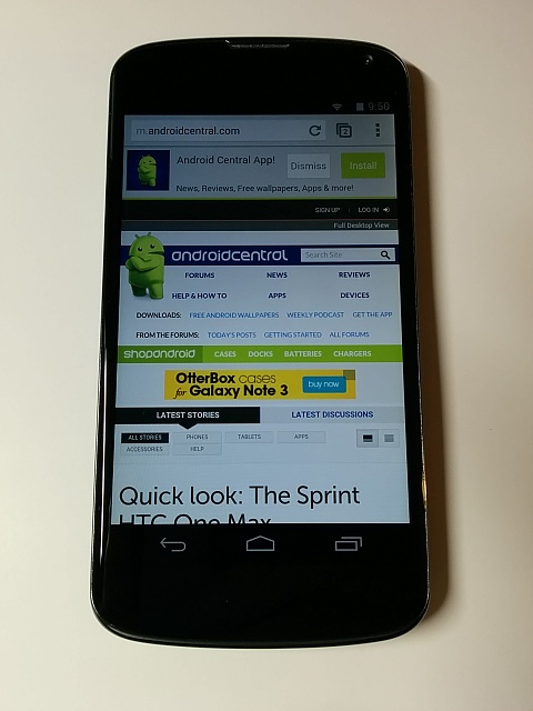 Gorgeous Nexus 4 16 GB Black with Official Bumper and Original Packaging and Accessories-02.jpg