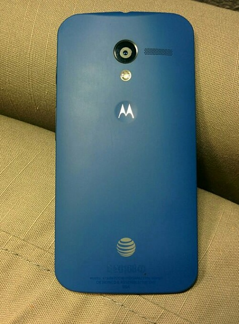 Unlocked AT&T Moto X 32GB Royal Blue Back, Black Front and Accents 0 OBO-ete8a5e3.jpg