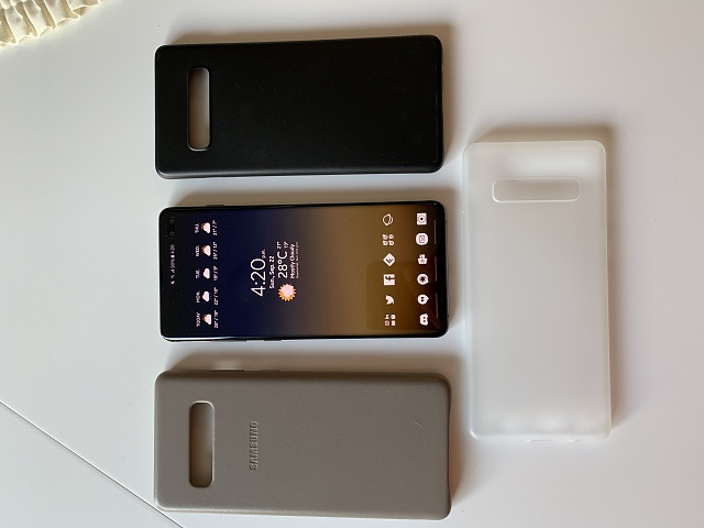 Samsung Galaxy S10+ Ceramic Black 512GB (Factory Unlocked) and cases-cases.jpg