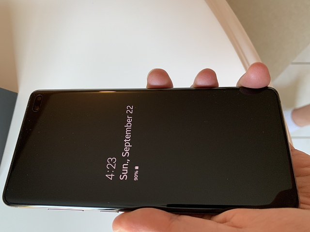 Samsung Galaxy S10+ Ceramic Black 512GB (Factory Unlocked) and cases-condition-front.jpg