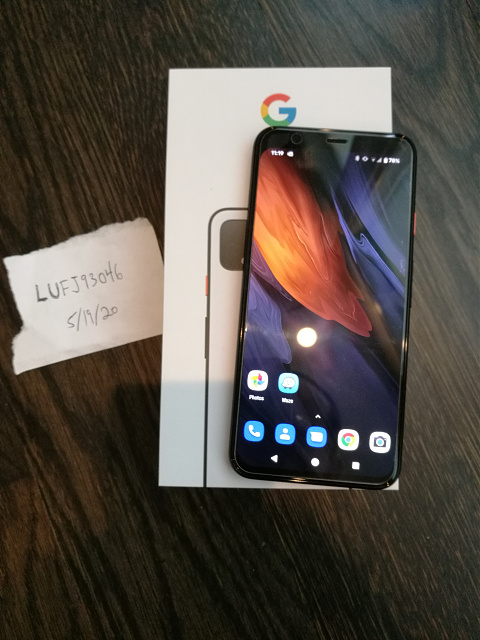 FS or Trade: Like New Verizon Pixel 4 128GB + Pixel Stand Charger!-img_20200519_113431.jpg