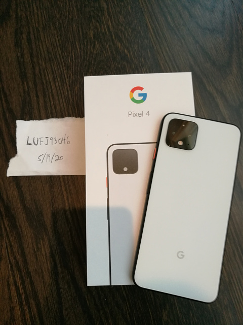 FS or Trade: Like New Verizon Pixel 4 128GB + Pixel Stand Charger!-img_20200519_113512.jpg