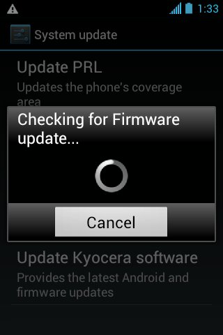 Kyocera Hydro - What was the firmware update? - Android Forums at