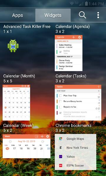 Clock Widgets Not Pre-installed with OS (Android 5.1.1 Lollipop) LG Premier LTE-394.jpg