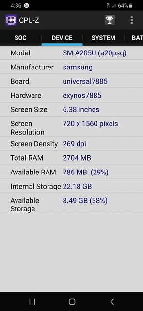 my galaxy a20 has different specs than officially stated specs.-2217.jpg