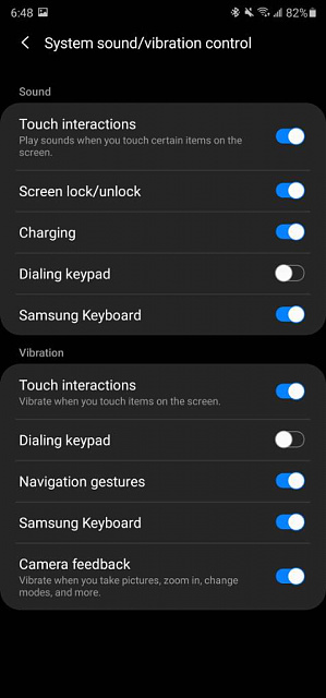 Samsung Galaxy A10s wont vibrate on touch.  Haptic Feedback?-screenshot_20200928-184853_settings.jpeg