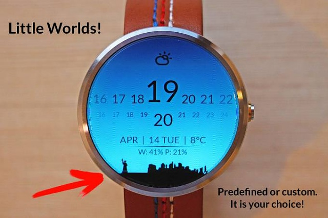 "FYI ; Turn the Moto 360 ""flat tire"" into a feature with a 99 cent watch face-elegant.jpg"