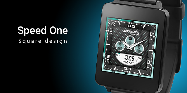Speed One Watch Face-feature-square.png