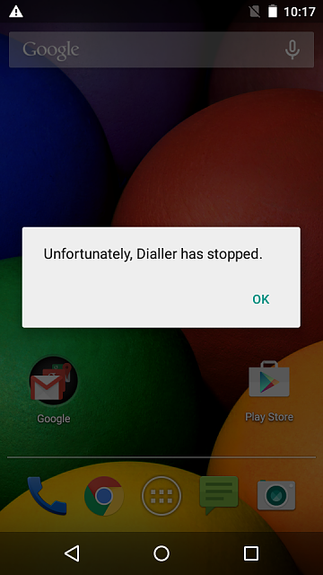My moto e (1st) does not detect sim cards and does not connect to