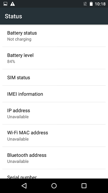 My moto e (1st) does not detect sim cards and does not