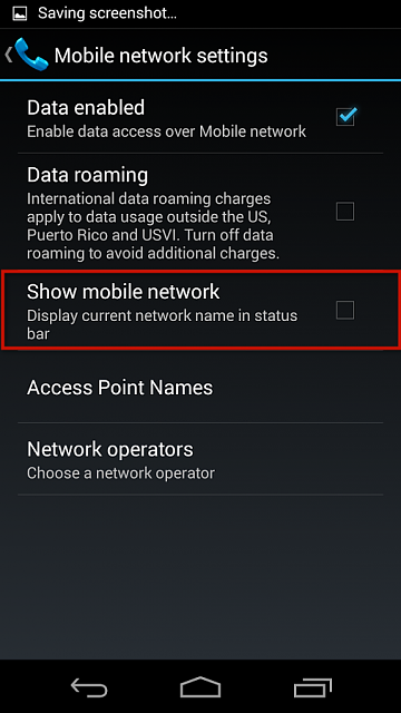 show carrier name in status bar samsung s9