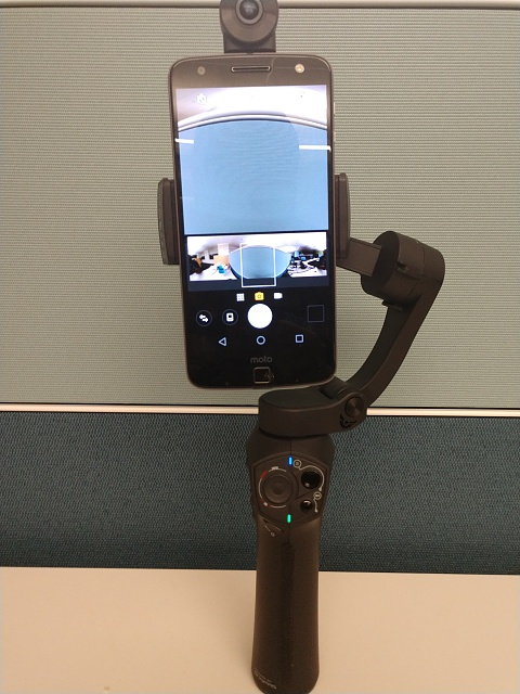 Snoppa ATOM Gimbal with Moto Mods - Android Forums at