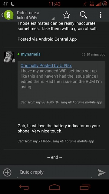 Didn't use a lick of WiFi today yet my Moto X says otherwise-1392097472011.jpg