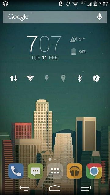Let's see your Moto X (1st gen) homescreens-uploadfromtaptalk1392170874747.jpg
