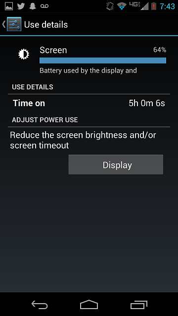 Wow... this phone just keeps surprising me. Battery life is incredible!-screenshot_2013-11-15-19-43-24.png