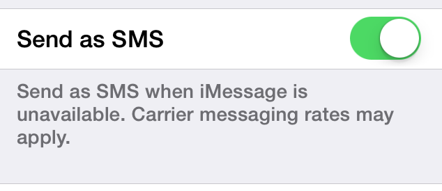 Frustrated at iMessage Intercepting Texts after Switching to Android-imessage.png