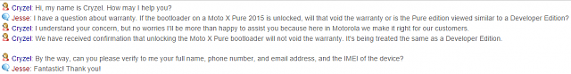 Does anyone think Moto will honor the warranty after Unlocking the Bootloader?-uploadfromtaptalk1441974342211.png