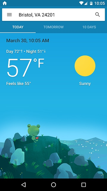 Google Now Weather Still Hasnt Updated Android Forums