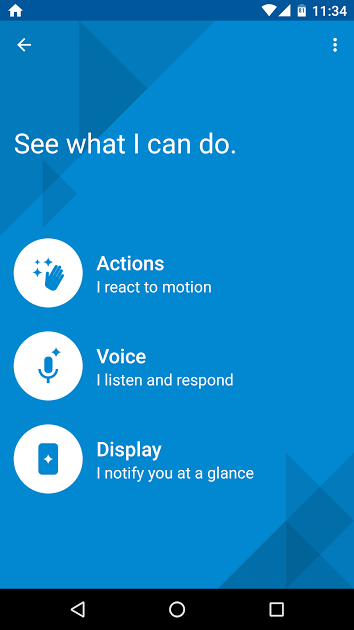 moto pure edition assist voice drive mode auto detect android marshmallow