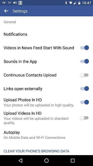 Lost the list for alert sounds in Facebook app-screenshot_20170515-104720.jpg