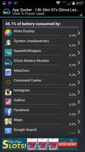 Verizon Motorola Droid Turbo Command Center Drain, Built-in Battery vs GSam-gsam2.png