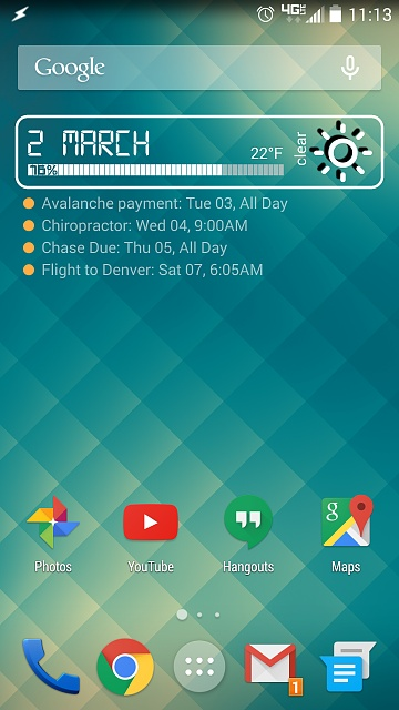 What is Your Go-To Weather/Clock Home Screen Widget?-uploadfromtaptalk1425312866463.jpg