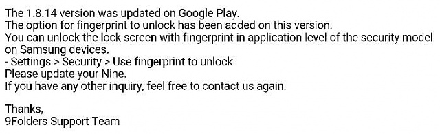 Finger Scanner - Any apps take advantage of it yet? - Android Forums
