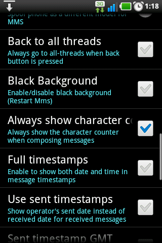 No SMS split in GingerSnap 2.3-screenshot-1359321524601.png