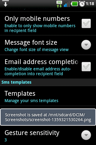 No SMS split in GingerSnap 2.3-screenshot-1359321533243.png