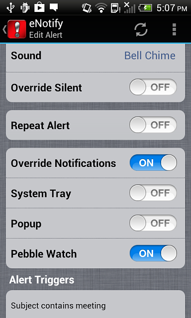 [Android][iOS] eNotify: Email filtering for pebble watches-alert-pebble.png