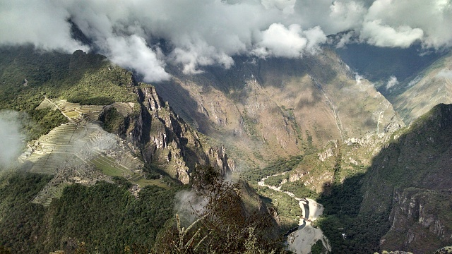 Weekly Photo Contest: Bridges-looking-down-machu-picchu-august-2014.jpg