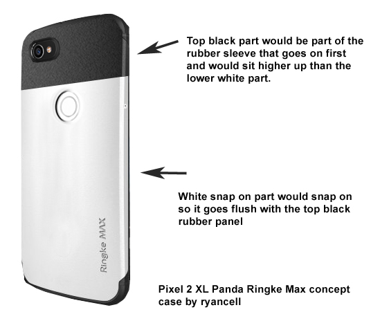 various colors cc51e b4435 Panda Concept case I wish someone would make. Namely Ringke Max ...