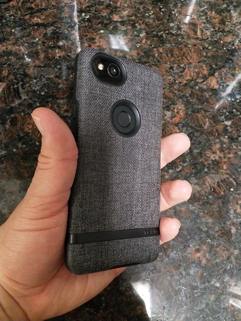 best service 5513e 3ffd8 Incipio Carnaby Series Esquire Case Review for the Pixel 2 - Android ...
