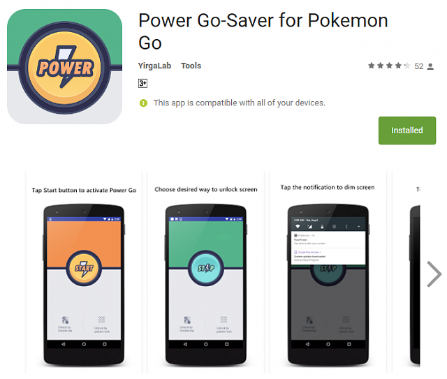 Battery saver for Pokemon Go specifically - From YirgaLab-screen.png