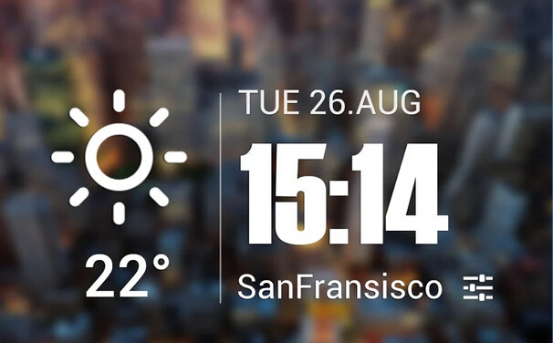 Beautiful and useful weather clock widgets-qq-20150813185103.jpg