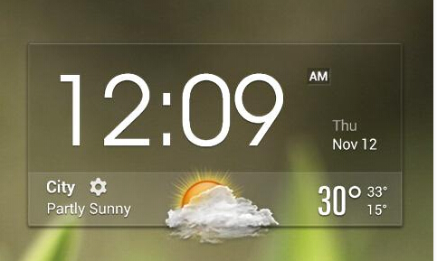 Beautiful and useful weather clock widgets-qq-20150813185452.jpg