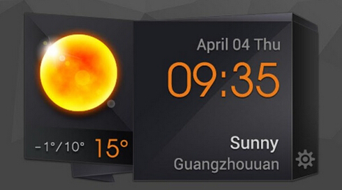 Beautiful and useful weather clock widgets-qq-20150813185516.jpg