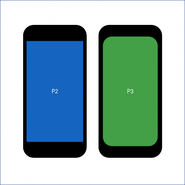 Pixel 3 and 3 XL Display Size Comparison to the Pixel 2 and Pixel 2XL-p2p3.png