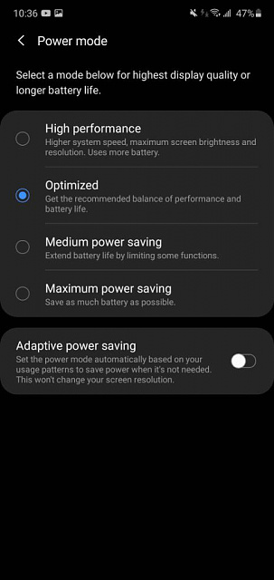 Screen dimming on A70 after Android 10 update.-screenshot_20200714-223610_device-20care.jpeg